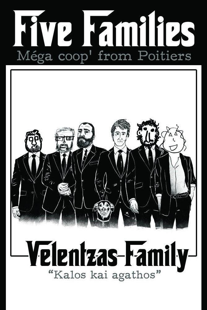 étiquette de la Valentzas